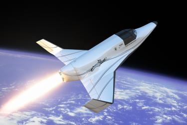 Lynx vehicle (credit: XCOR Aerospace)