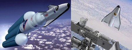 Orbital space taxi concepts