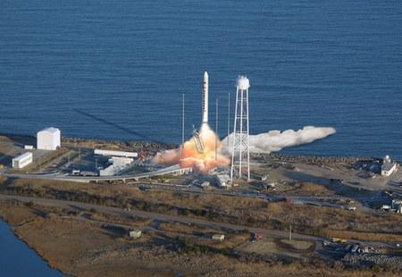 Antares launch illustration