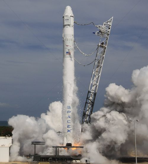 Falcon 9 hotfire