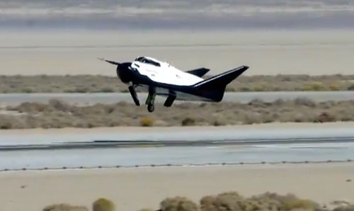 Dream Chaser ETA before landing