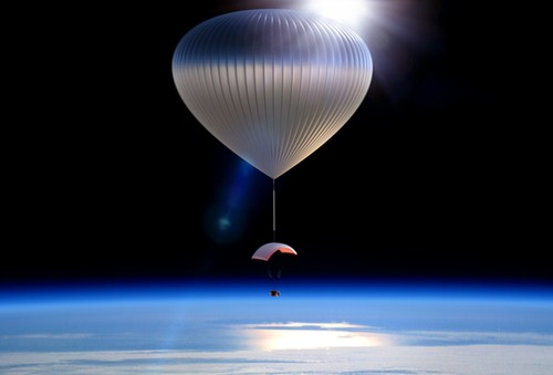 World View balloon