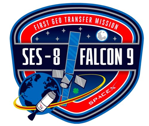 F9 SES-8 patch