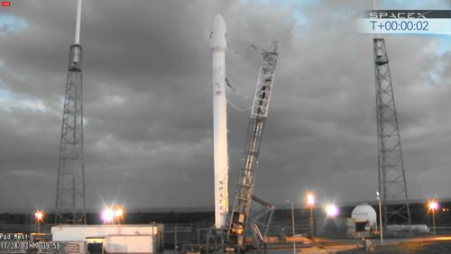 Falcon 9 after abort