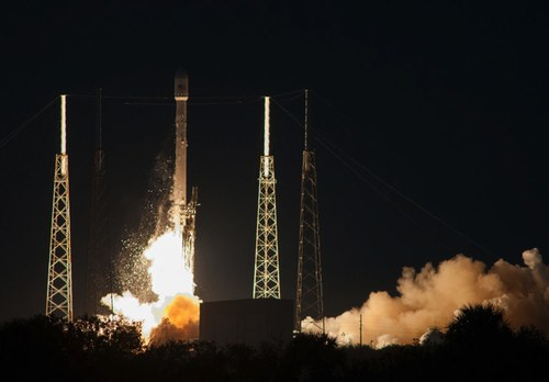 Falcon 9 SES-8 launch