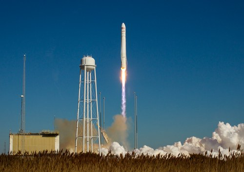 Antares Cygnus launch