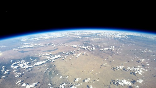 View of Earth from World View balloon