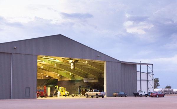XCOR hangar at Midland